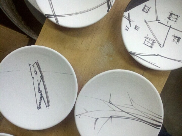 tiny plates in progress
