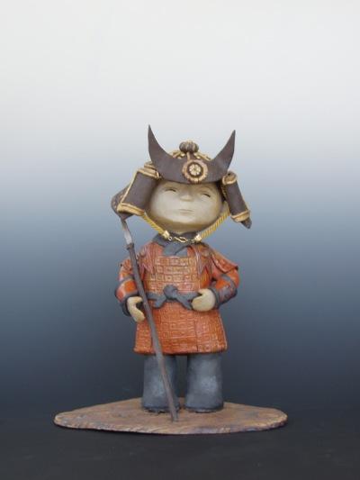 Kathy Yoshihara ceramic Momotaro