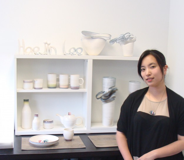 Haejin Lee ceramic artist Kobo at Higo Seattle