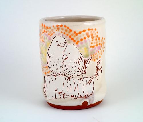 Ayumi-Horie-Kobo-bird-cup-1