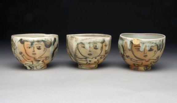 Beth Lo Anagama Teabowls 2006