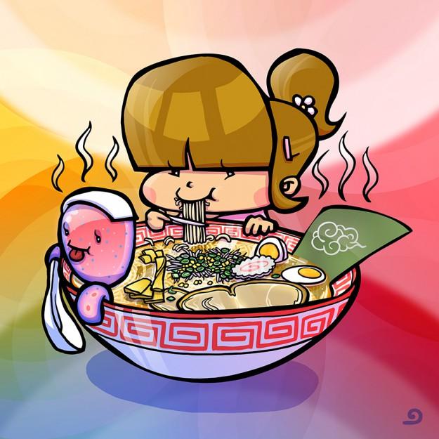 Enfu Cute Grit Elly Ramen